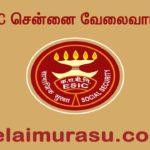 ESIC Chennai Recruitment