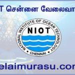 NIOT Chennai Recruitment